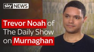 Trevor Noah of The Daily Show on Murnaghan 5