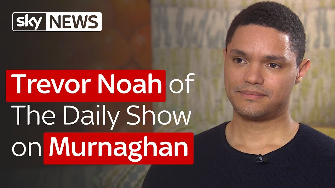 Trevor Noah of The Daily Show on Murnaghan 6