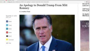 BREAKING: Donald Trump HUMILIATES Mitt Romney! 11/27/16 8