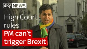 Campaigners win a landmark High Court victory over Brexit 1