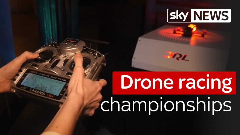 Swipe: The drone racing league championships are coming to London 1
