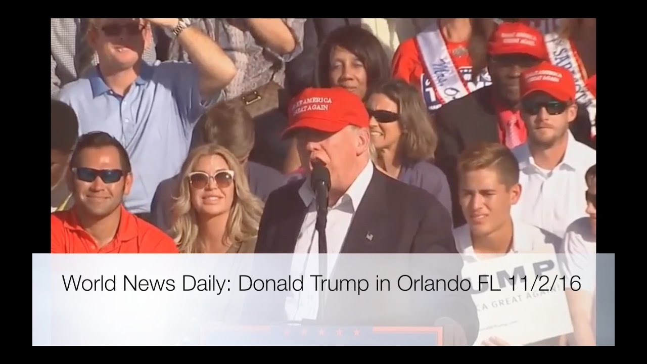 Full Speech: Donald Trump Rally 11/2/16: Orlando, Florida 5