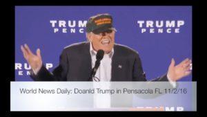 Donald Trump Speech in Pensacola FL 11/2/16 2