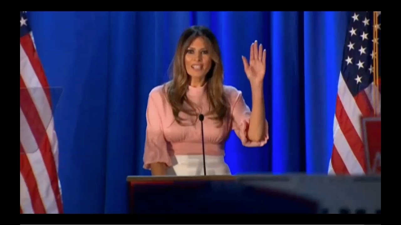 Melania Trump Speech 11/3/2016 in Berwyn, PA 9