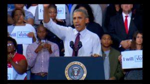 Obama Speech in Fayetteville NC 11/4/16 3
