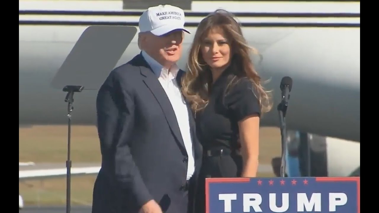 Donald and Melania Trump Speech: Wilmington, NC 11/5/2016 1