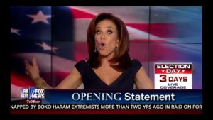 We Need a President Not Under Criminal Investigation! Judge Jeanine Pirro Opening Statement 11/5/16 1