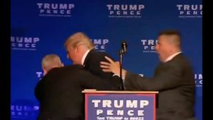 Man Attempts to Attack Donald Trump! 11/5/16 2