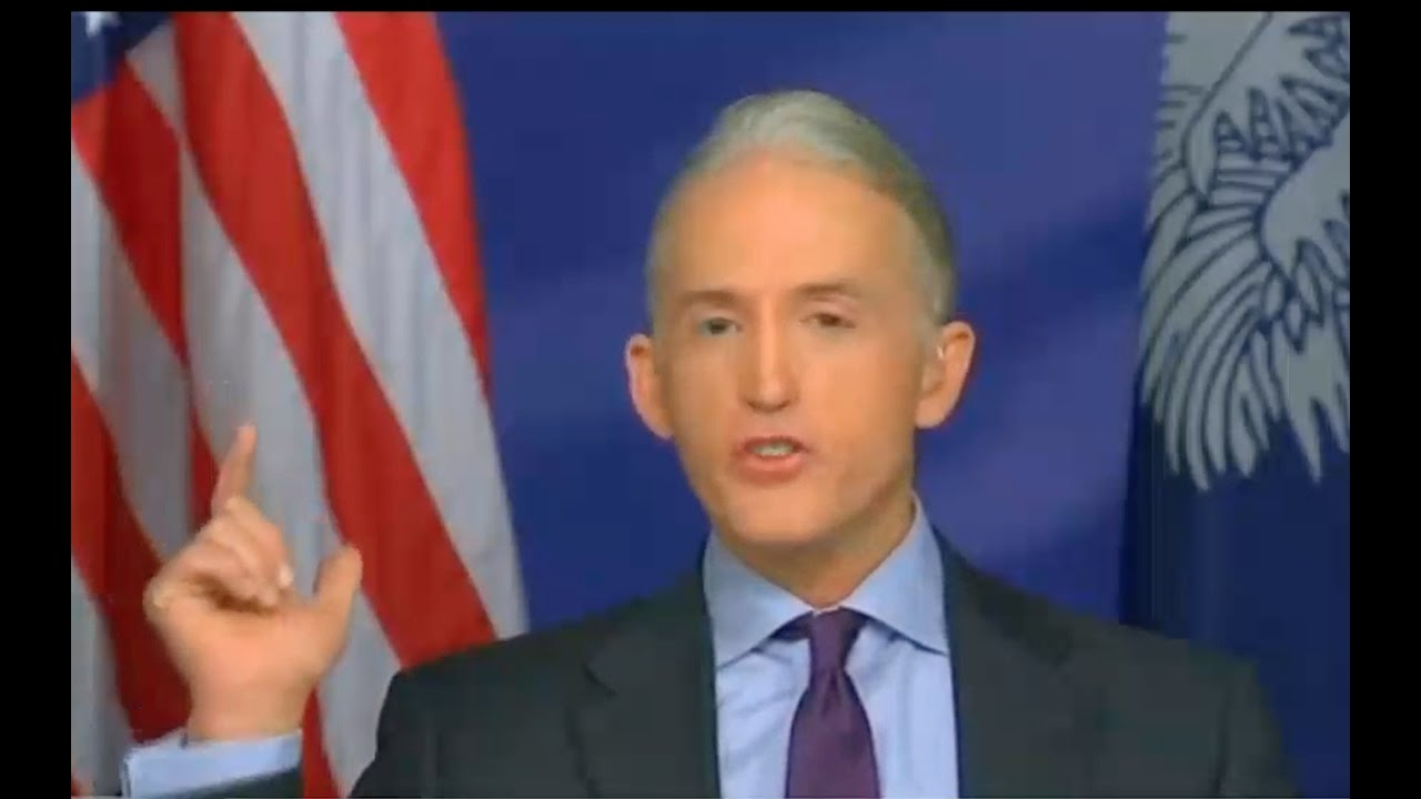 Trey Gowdy Interview About Hillary Clinton Criminal Investigation 11/6/16 6