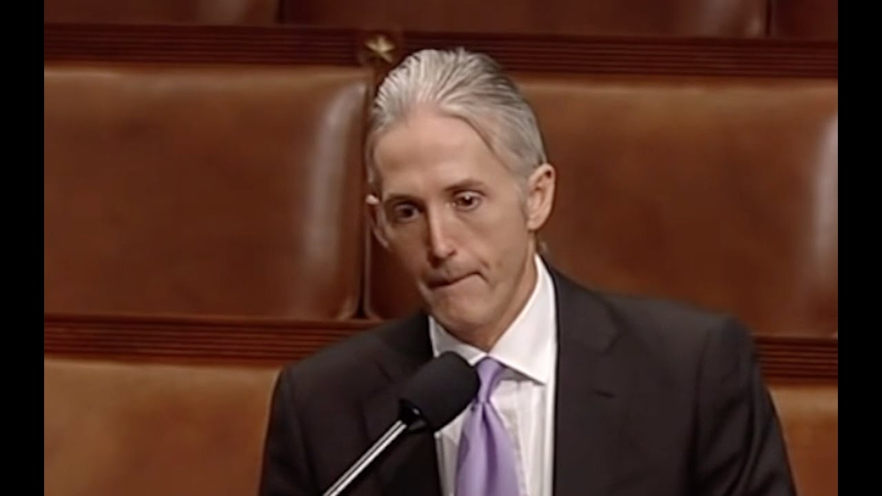 Trey Gowdy Cries When Talking About Sanctuary Cities! 1