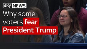 Why some voters fear President Trump 1