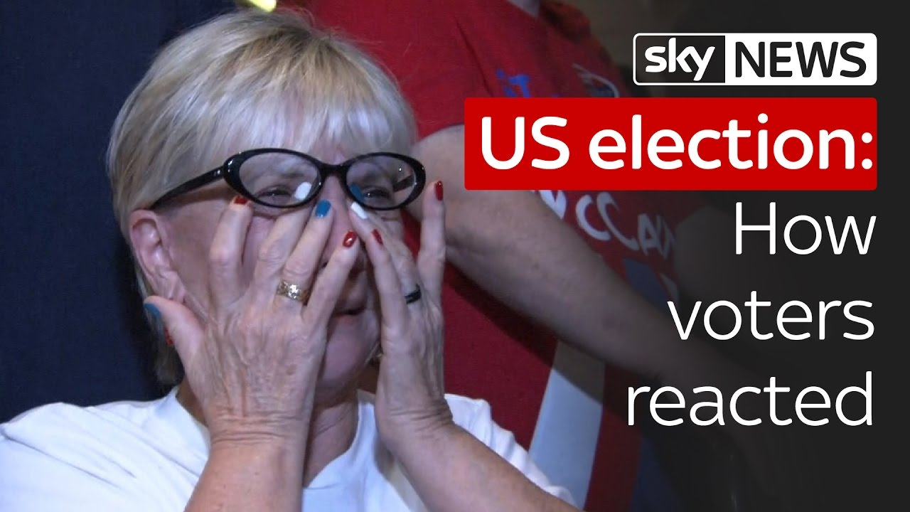 US election 2016: How voters reacted to the incredible result 5