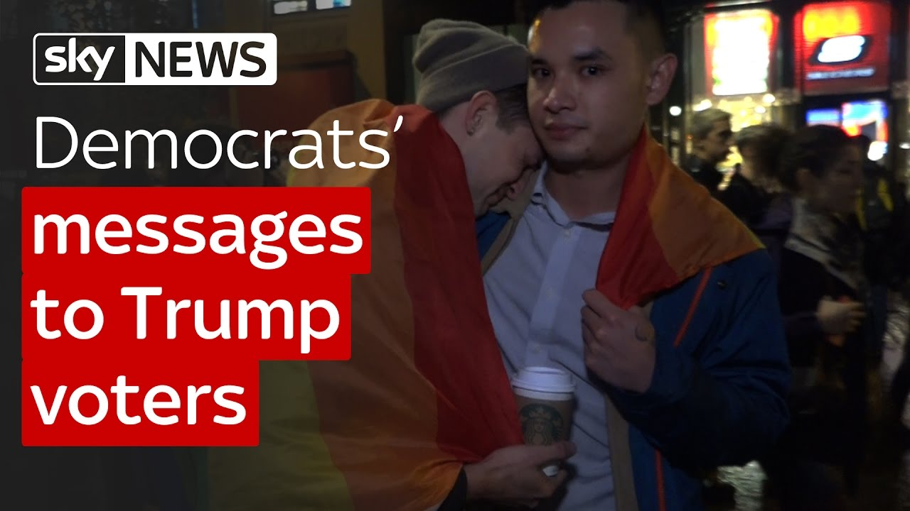 Democrats' messages to Trump voters 7