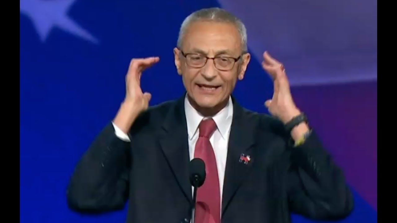 Hillary Loses & John Podesta Gives Pathetic Speech 11/8/16 1