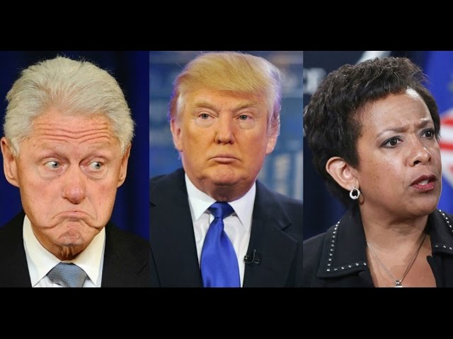 BREAKING: Donald Trump Fires Loretta Lynch Offers Job to Jeff Sessions 11/18/16 3