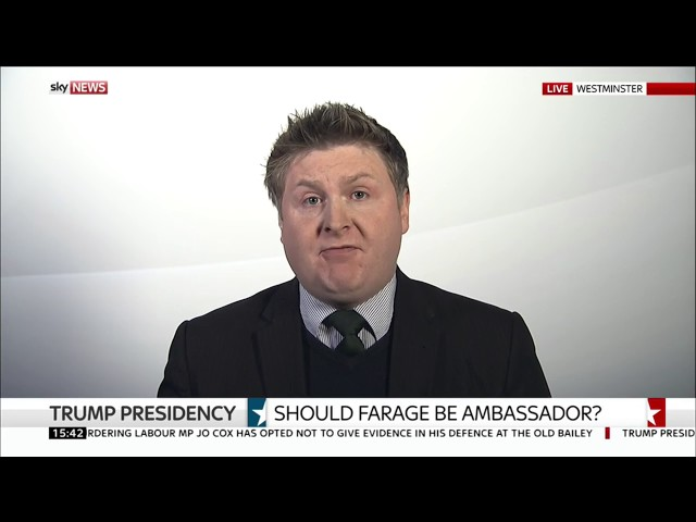 Should Nigel Farage become ambassador to the US? 7