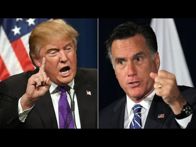 Is Donald Trump Messing with Mitt Romney? 11/27/16 10