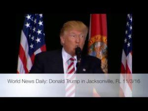 Donald Trump Speech in Jacksonville FL 11/3/16 9