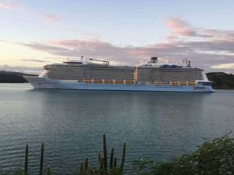 Fwd: Antigua and Barbuda celebrates historic arrival of the MS Anthemof the Seas 5