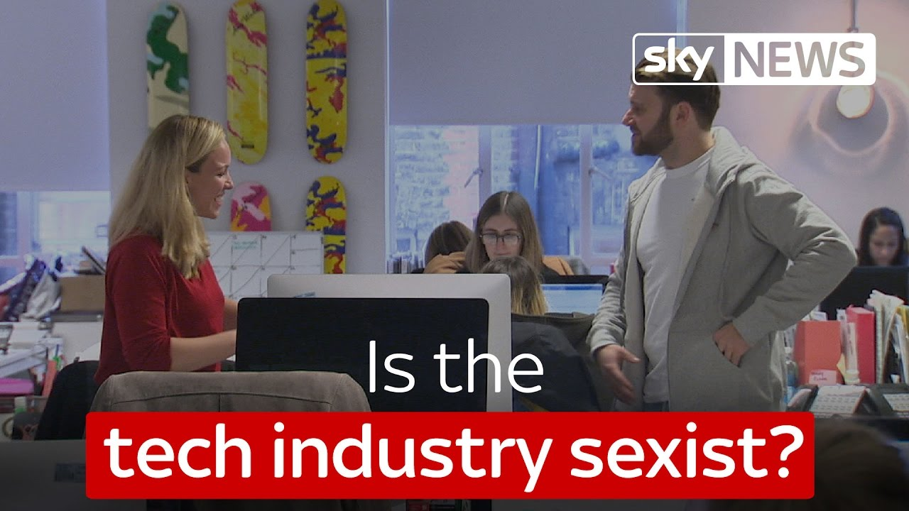 Is the tech industry sexist? 3