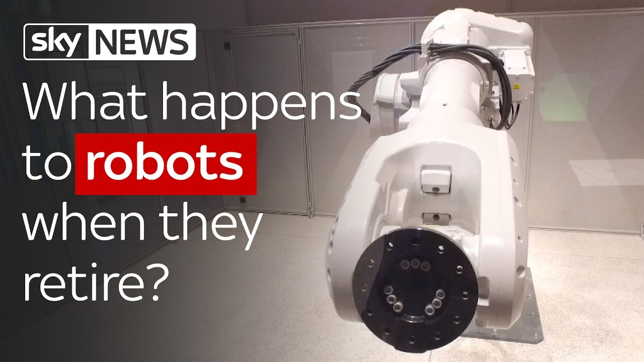 Swipe: What Happens To Industrial Robots When They Retire? 9