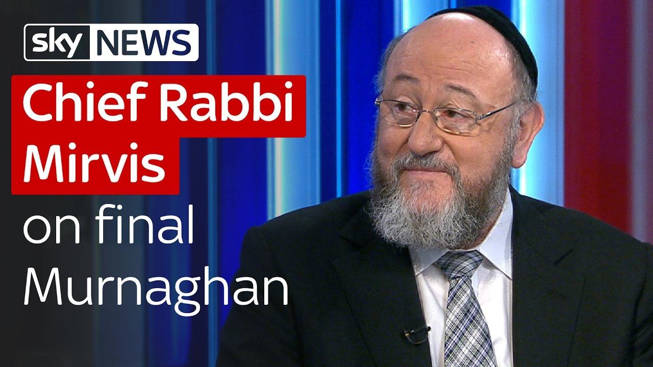 Chief Rabbi Mirvis on final Murnaghan 1