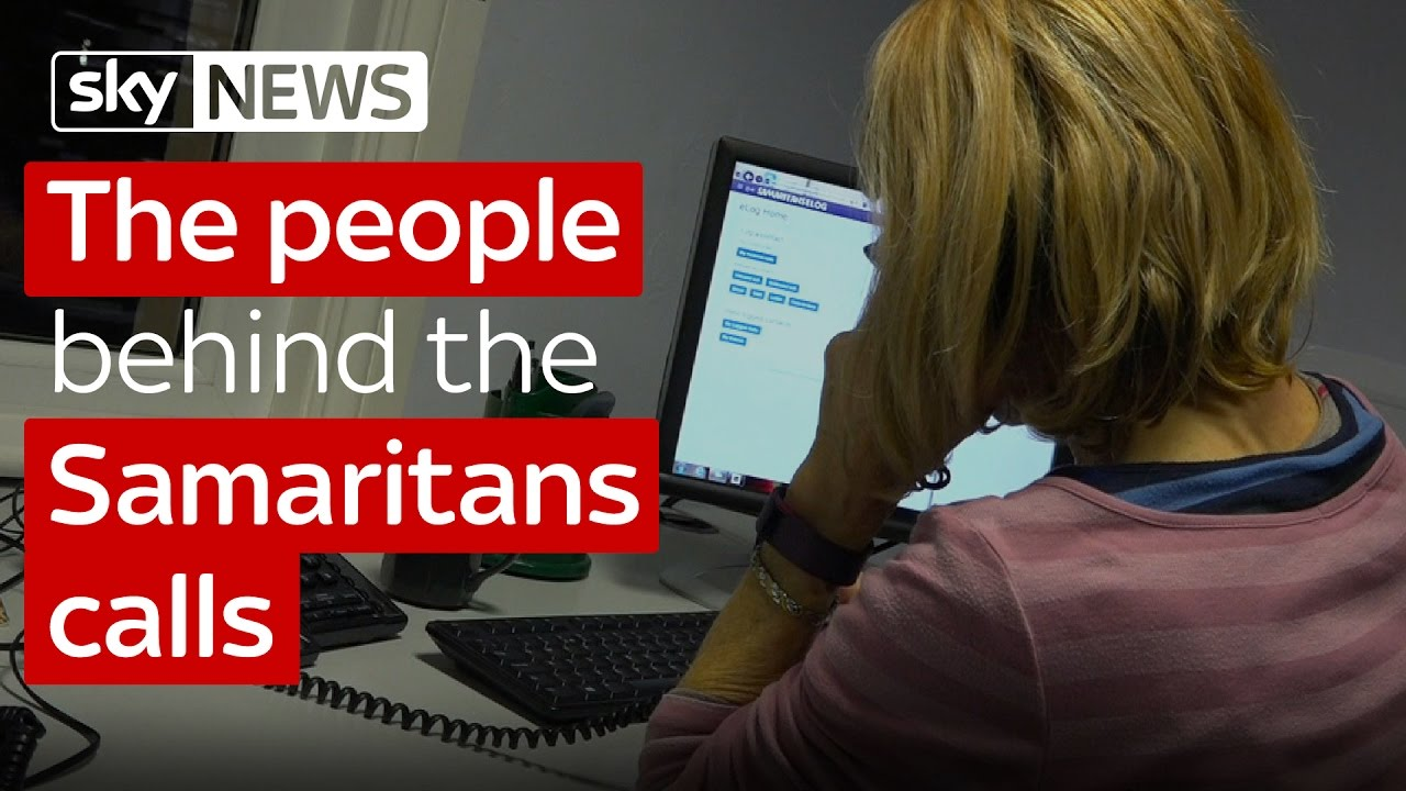 The people behind the Samaritans calls 1