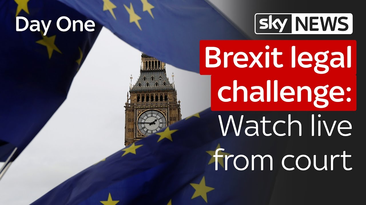 Brexit legal challenge: Watch live from court 8