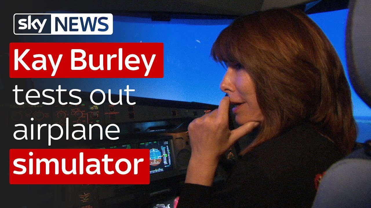 Kay Burley interviews Captain 'Sully' and tests out airplane simulator 1