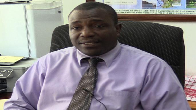 Agriculture Minister Johnson Drigo