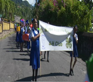 Dominica's Children 'March and Honk' Against Drugs