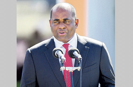 Dominica Prime Minister Roosevelt Skerrit