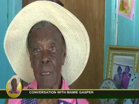 CONVERSATION WITH CENTENARIAN MAMIE GASPER 7