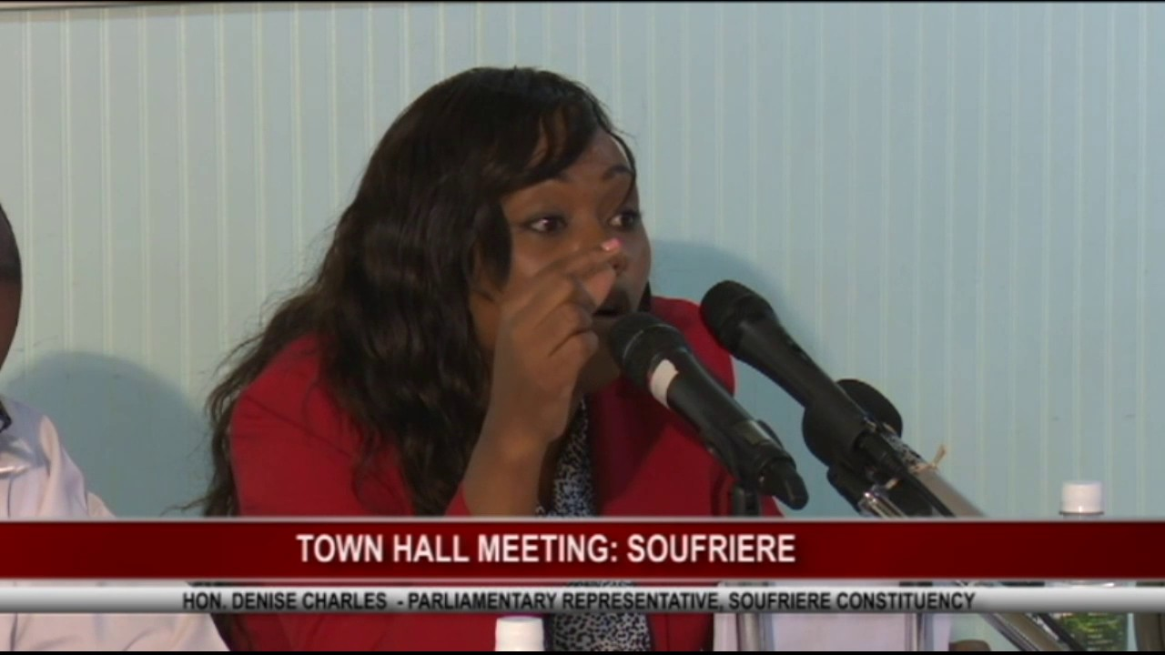 TOWN HALL MEETING IN SOUFRIERE - April 19 ,2017 12
