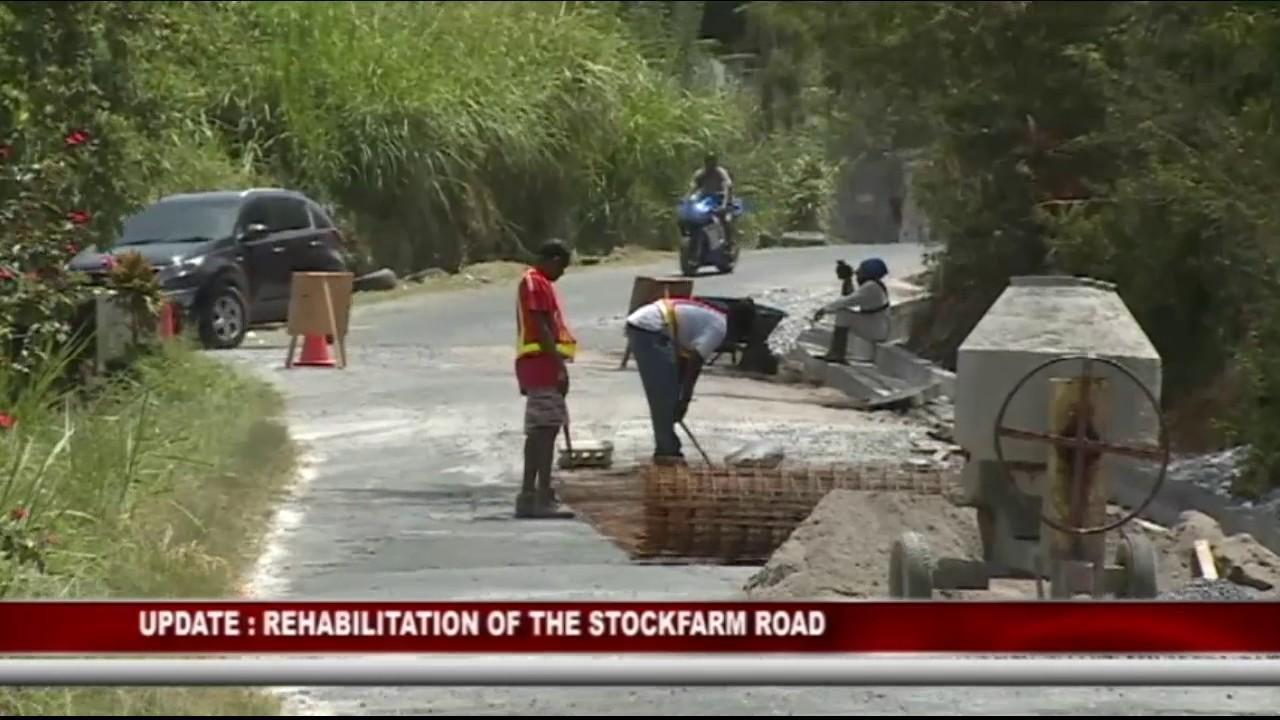 GIS DOMINICA UPDATE ON STOCKFARM ROAD REHABILITATION 7