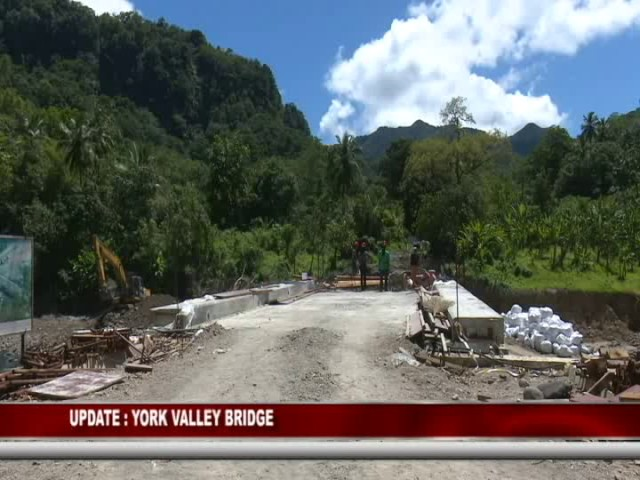 GIS DOMINICA UPDATE ON YORK VALLEY BRIDGE PROJECT 8