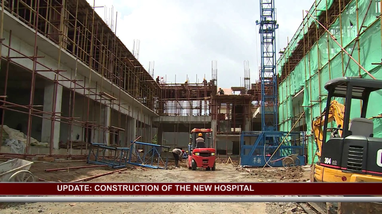 UPDATE ON PROGRESS OF NEW NATIONAL HOSPITAL 2