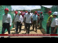 PM AND CABINET VISIT HOSPITAL CONSTRUCTION SITE- MAY 18 2017
