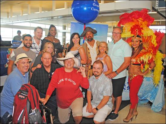 The Cayman Islands Celebrates Inaugural Southwest Airlines Flight 12