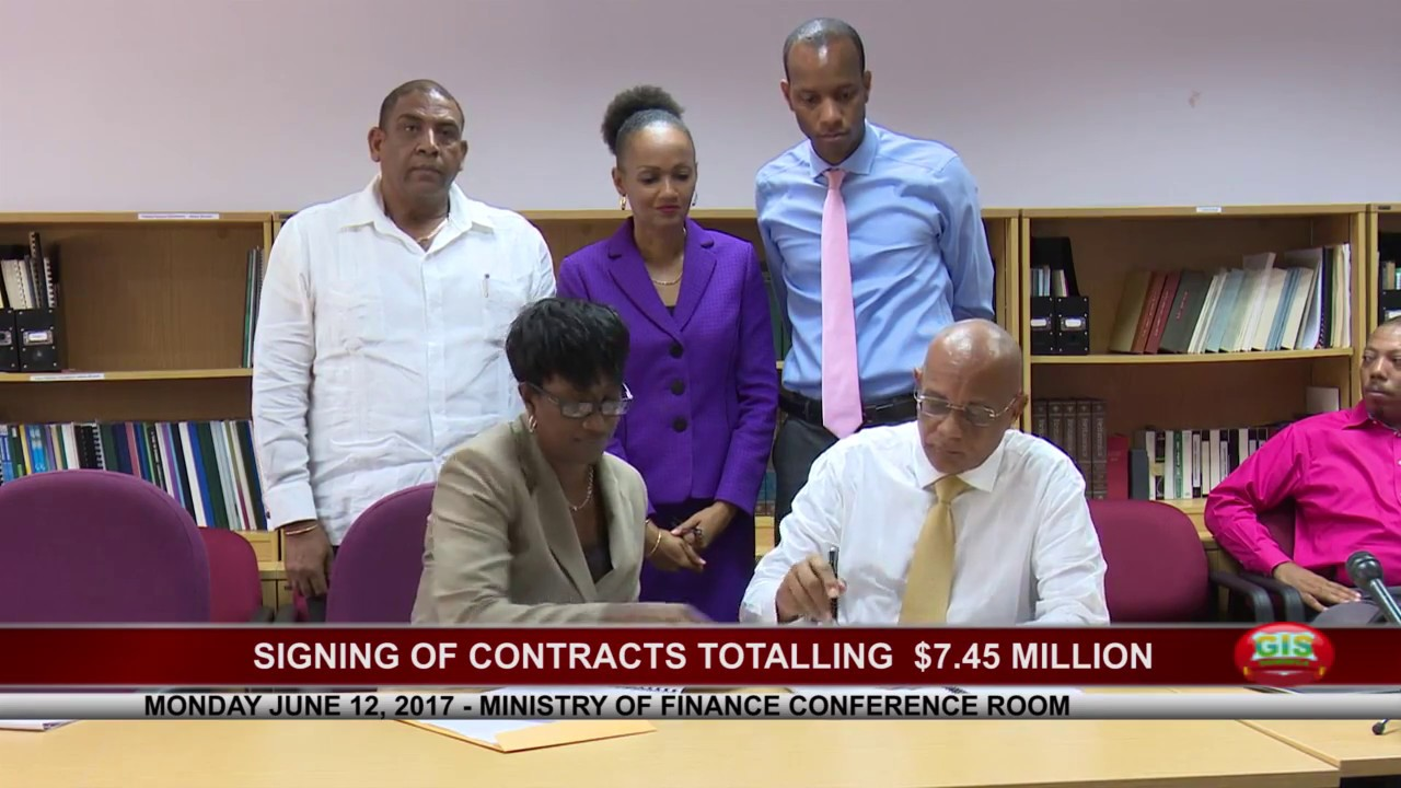 SIGNING OF CONTRACTS TOTALLING $7.45 MILLION 6