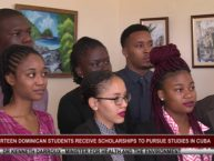 14 DOMINICAN STUDENTS OFF TO CUBA TO FURTHER STUDIES