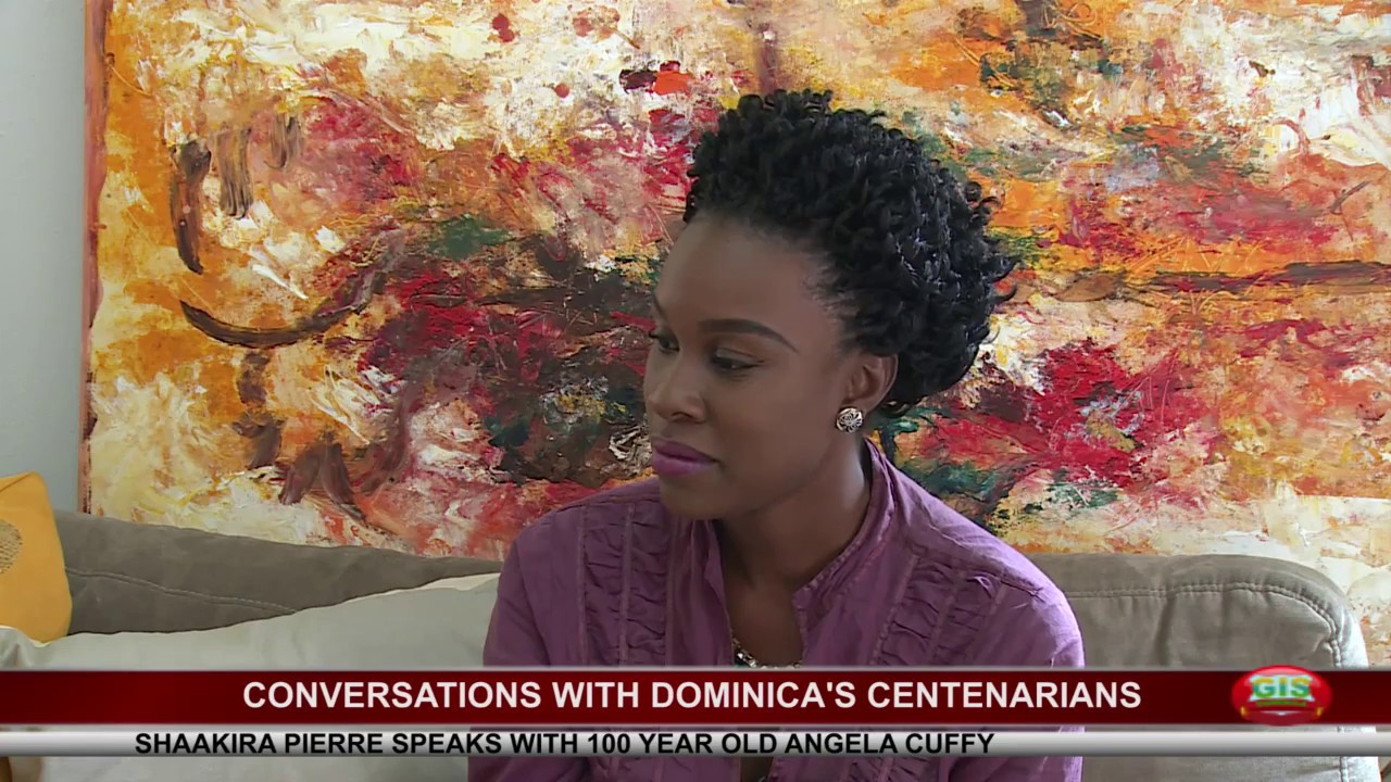 Conversation with one of Dominica's newest centenarians 4