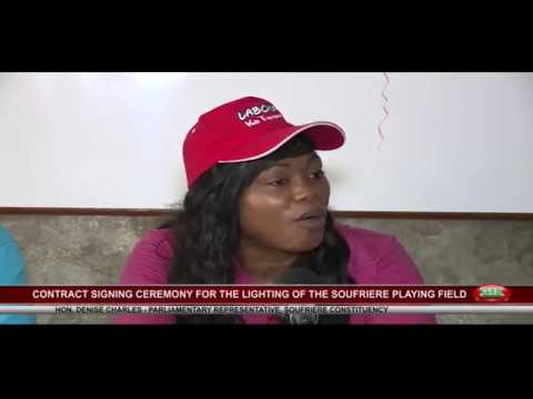 CONTRACT FOR LIGHTING OF SOUFRIERE PLAYING FIELD JULY 20 2017 mpeg2video 1