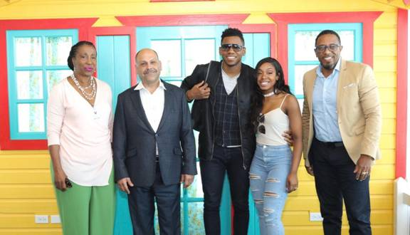 "Antigua and Barbuda Welcome""The Voice"" Winner Chris Blue & Wife for their Honeymoon 1"