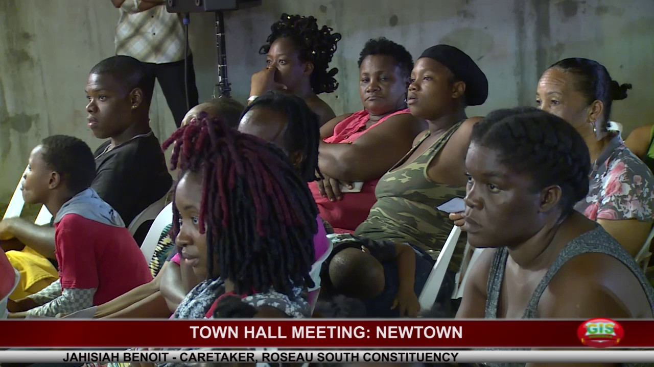 NEWTOWN TOWN HALL MEETING - Monday July 10th 2017 1