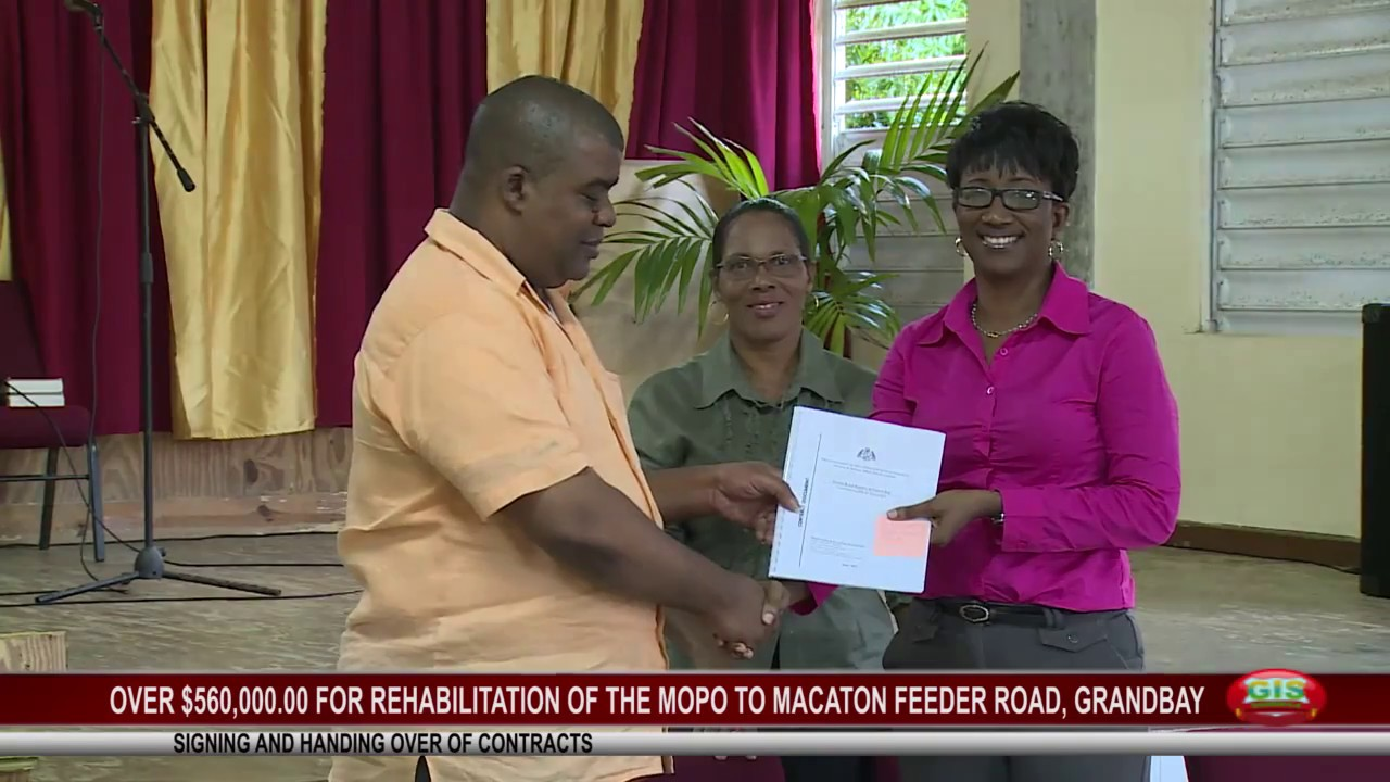 OVER $560K FOR REHABILITATION OF MOPO TO MACATON FEEDER ROAD 1