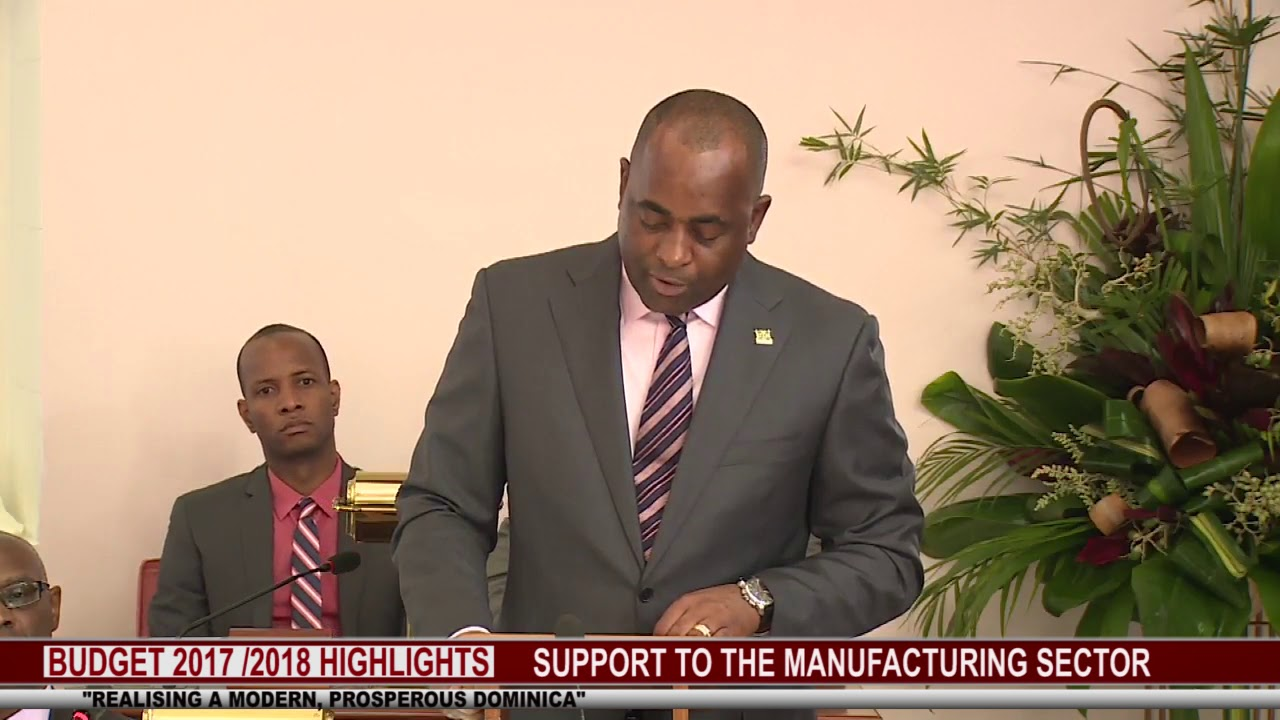 2017 2018 BUDGET HIGHLIGHTS : SUPPORT TO THE MANUFACTURING SECTOR 3