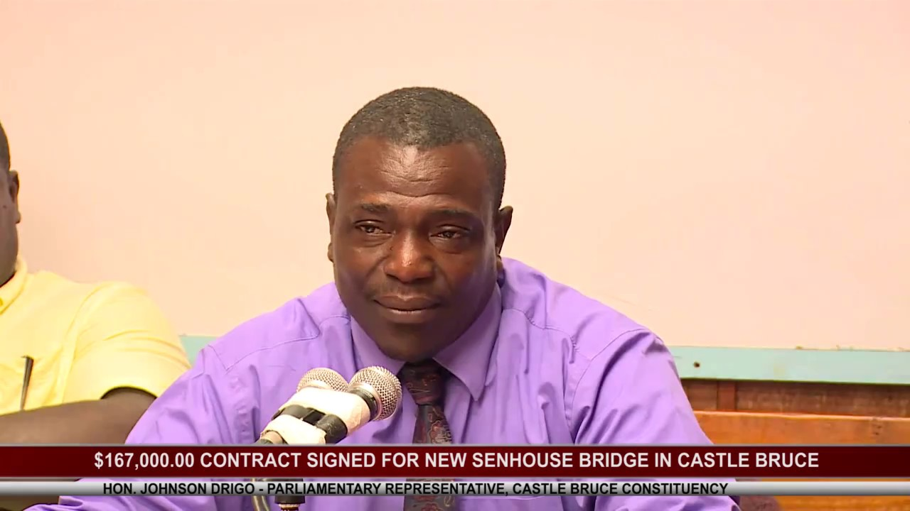 $167,000.00 CONTRACT SIGNED FOR SENHOUSE BRIDGE IN CASTLE BRUCE 11