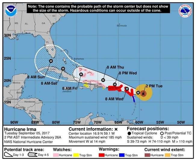 Turks and Caicos Visitors Advisory On Hurricane Irma 4