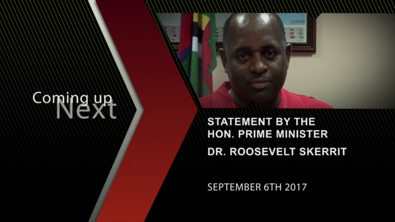 Prime Minister addresses nation following Hurricane Irma - September 6, 2017 8